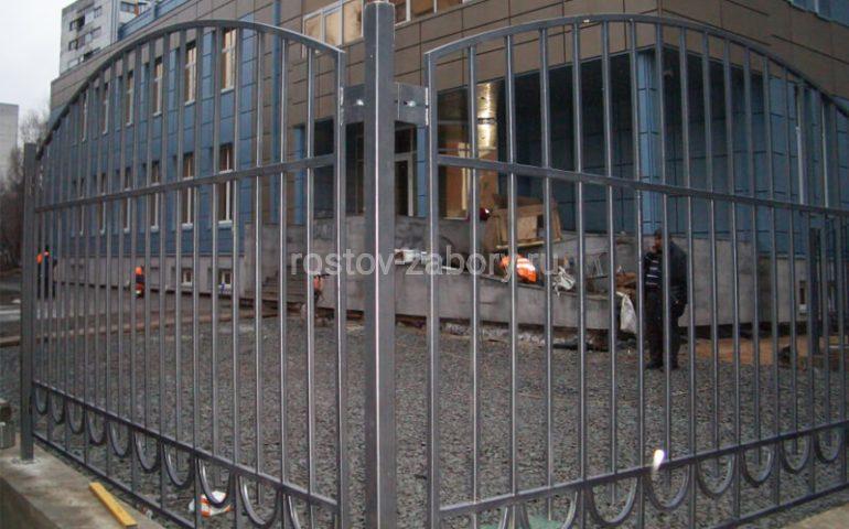 забор из профтрубы в Ростове-на-Дону