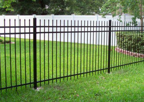 забор секционный из профильной трубы